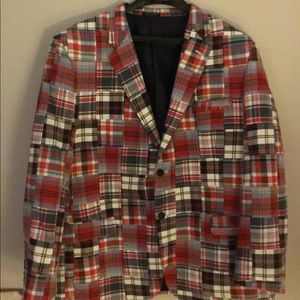 Men's Macy's Club Room Madres 2 Button Blazer 48L